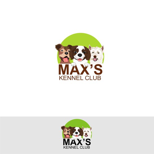 logo for Max's Kennel Club