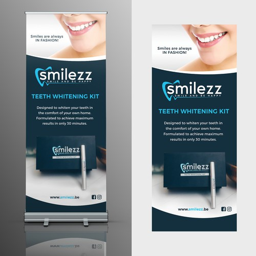 Roll up banner for Smilezz