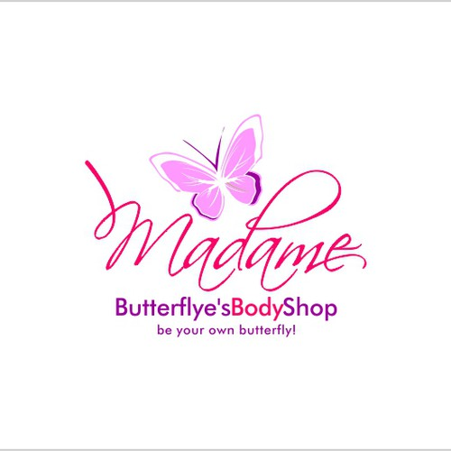 New logo wanted for Madame Butterflye's Body Shop
