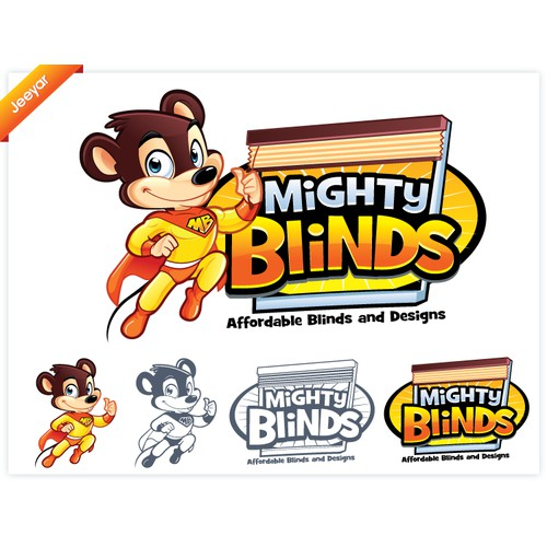 New logo wanted for Mighty Blinds