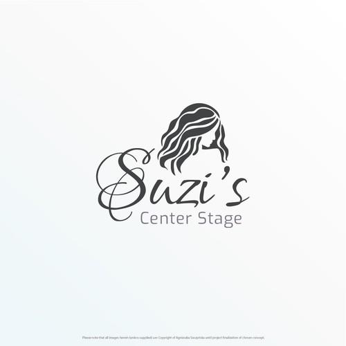 Logo concept for Suzi's Center Stage