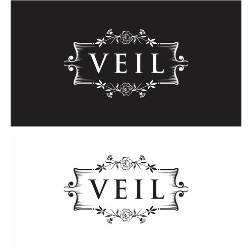 Create an illustrated logo for a luxury home decor brand.