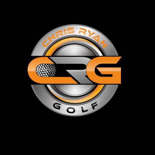 Create a new modern logo for a professional golf coach and you tuber