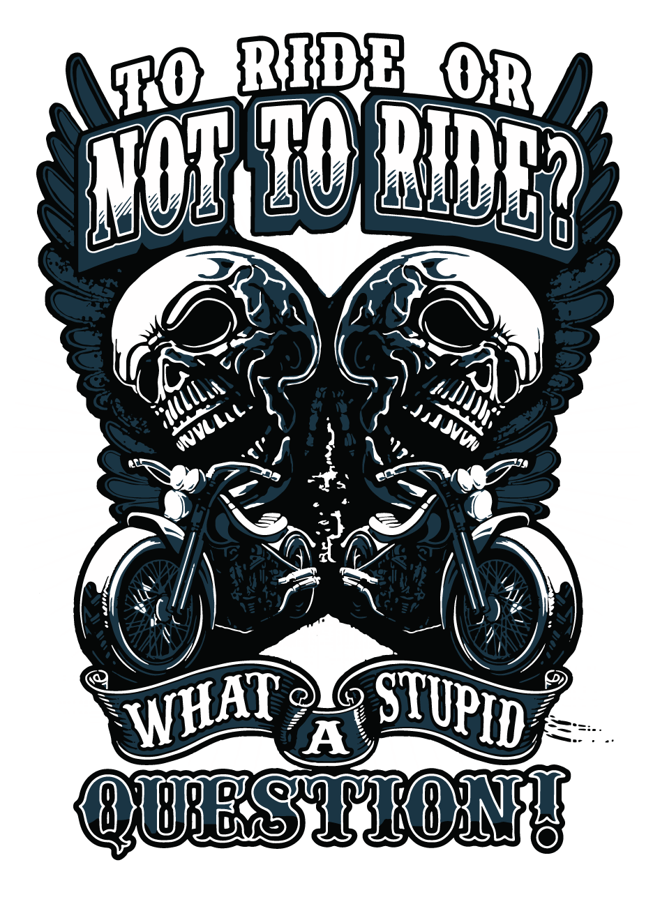 To Ride Or Not To Ride - Men's Motorcycle T-shirt