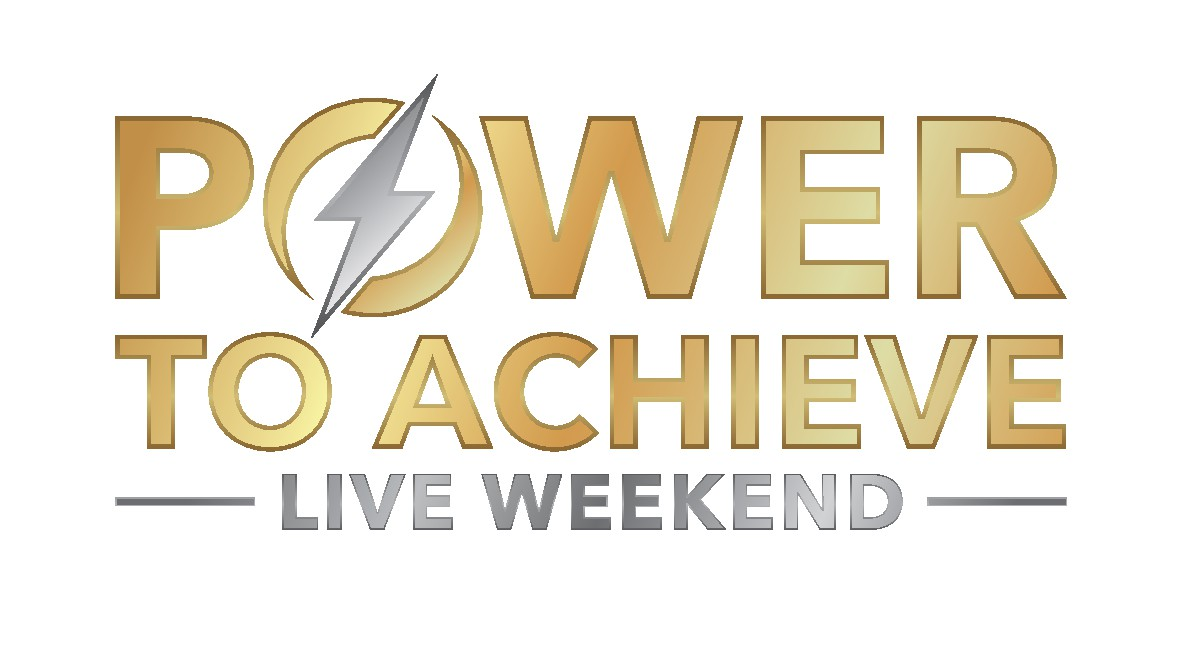Logo For The Power To Achieve Live Weekend Event.