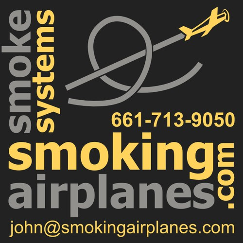 Create an advertisement that attracts pilots to buy smoke systems fromSmoking Airplanes