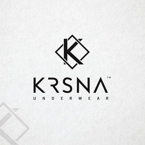 "Logo design for underwear company ""Krsna"""