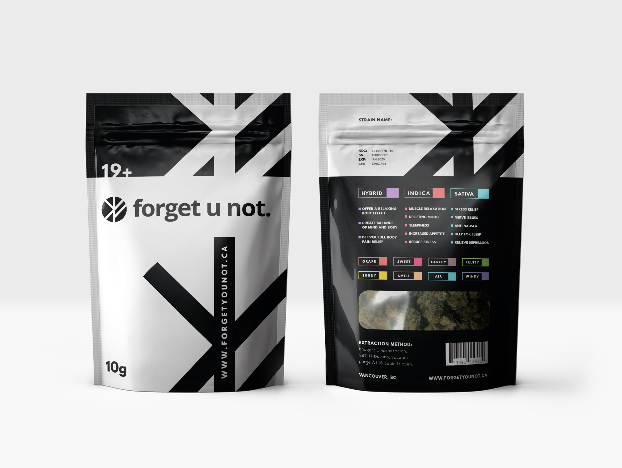 New Bag for Modern Cannabis Company - Forgetunot