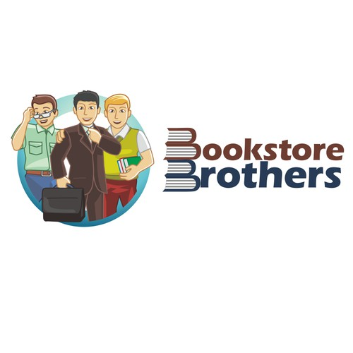 Be CREATIVE and have FUN! Design a logo for Bookstore Brothers.