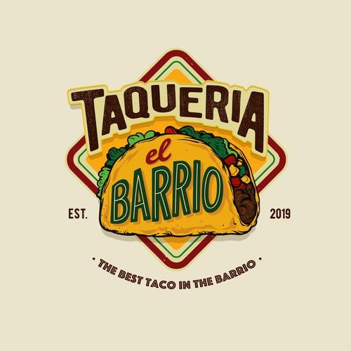 Taco place logo