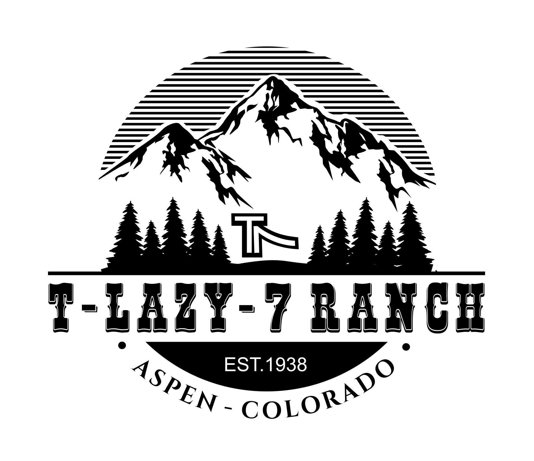 Create a western-chic logo for a recreational activities ranch in Aspen, Colorado!