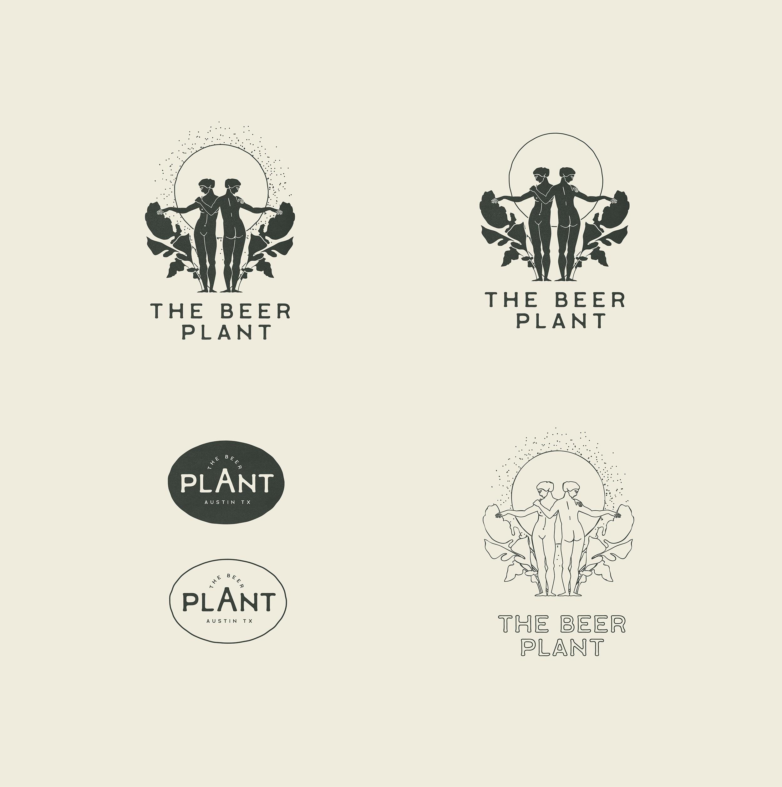 The Beer Plant Logo & Branding Identity