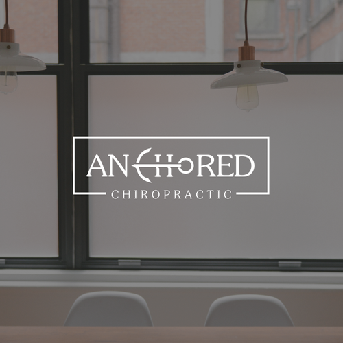 Logo Concept for anchored chiropratic