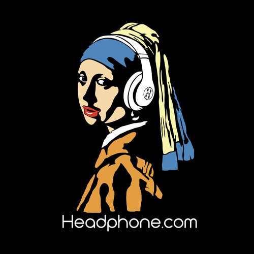 women with pearl ear parody