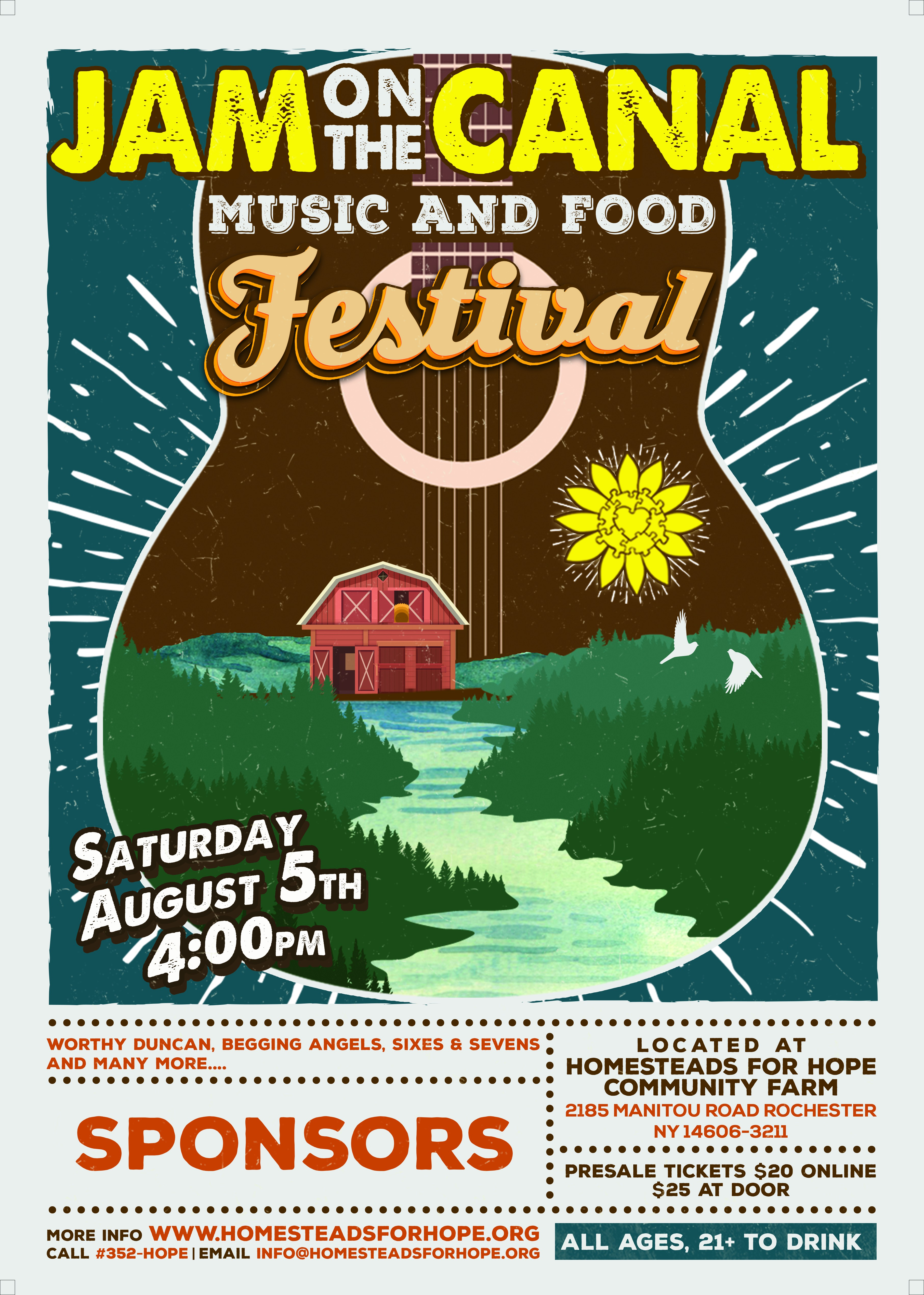 Jam on the Canal: Music & Food Festival
