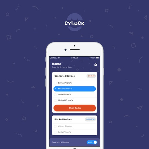 Mobile App Design for a Family Oriented Usage