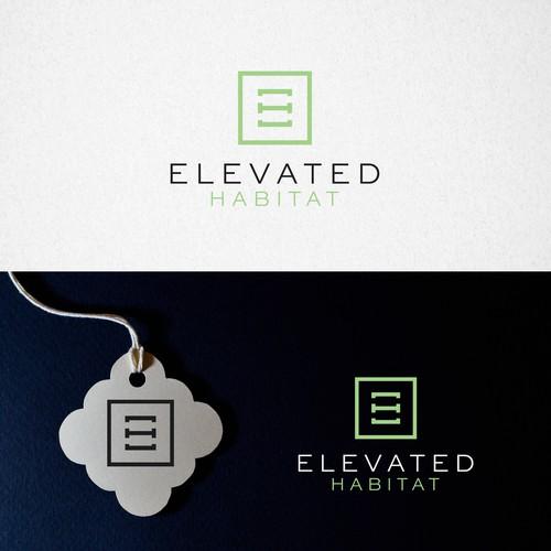 Bold Logo Concept for Elevated Habitat