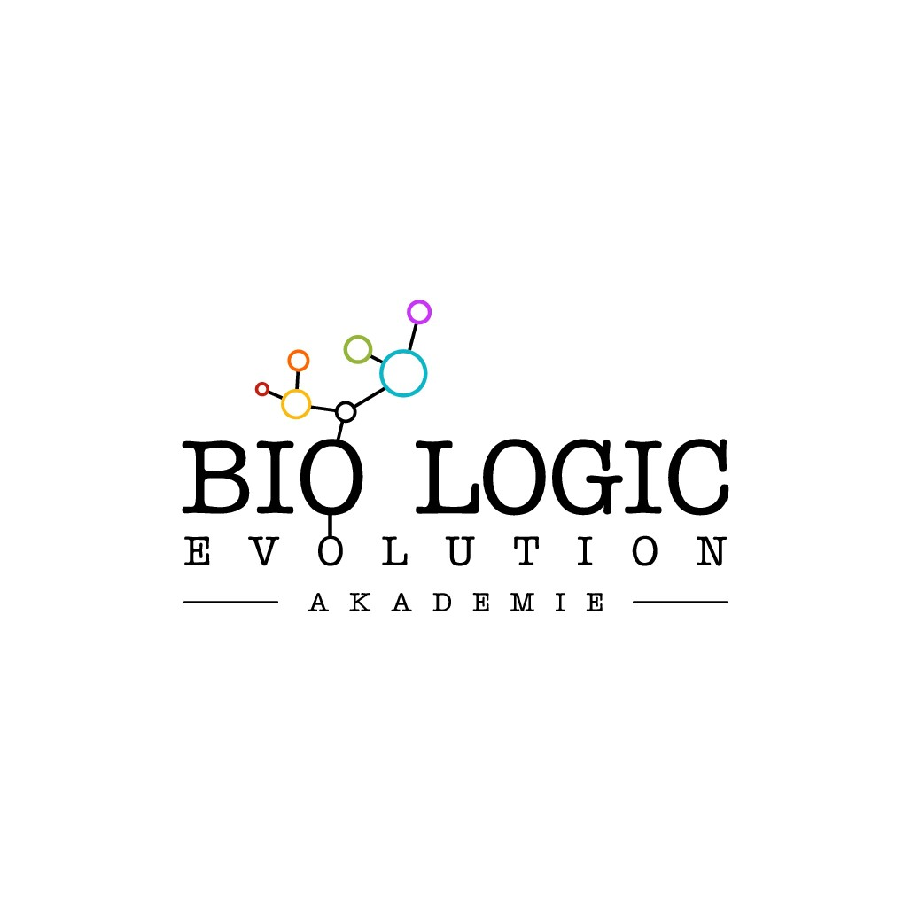 """Logo for """"bio logic evolution"""" - in wich world would you like your children to grow up??"""