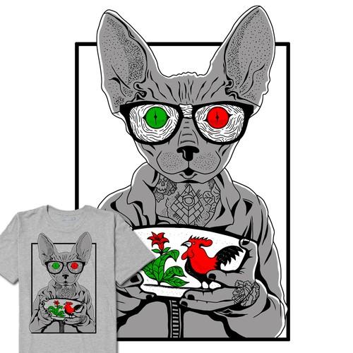 illustration / tshirt / digital art