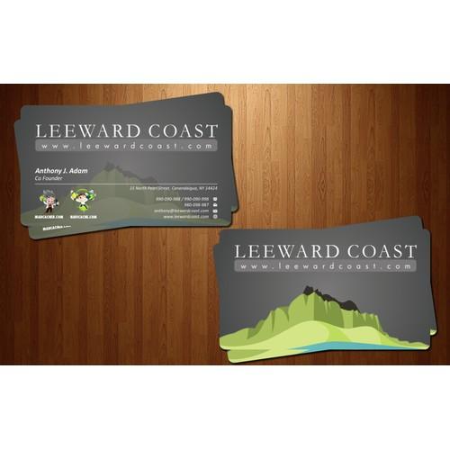 stationery for Leeward Coast LLC