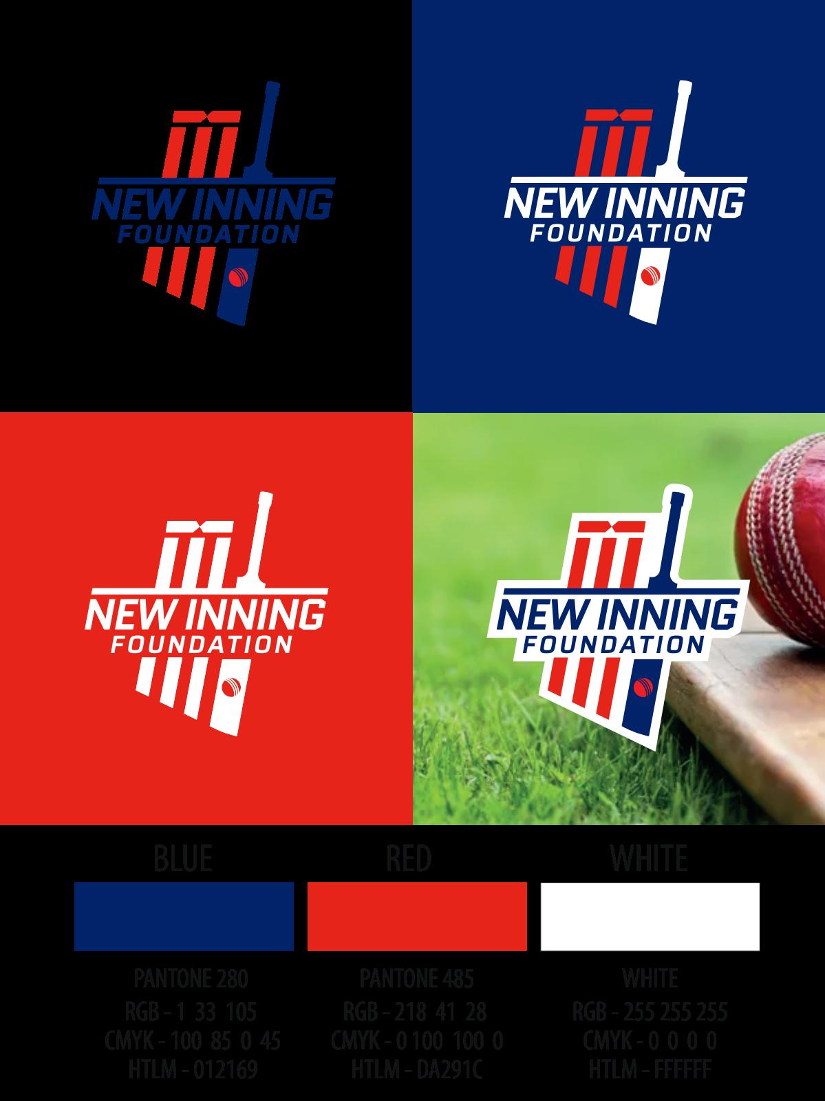 New Inning Foundation Logo Design