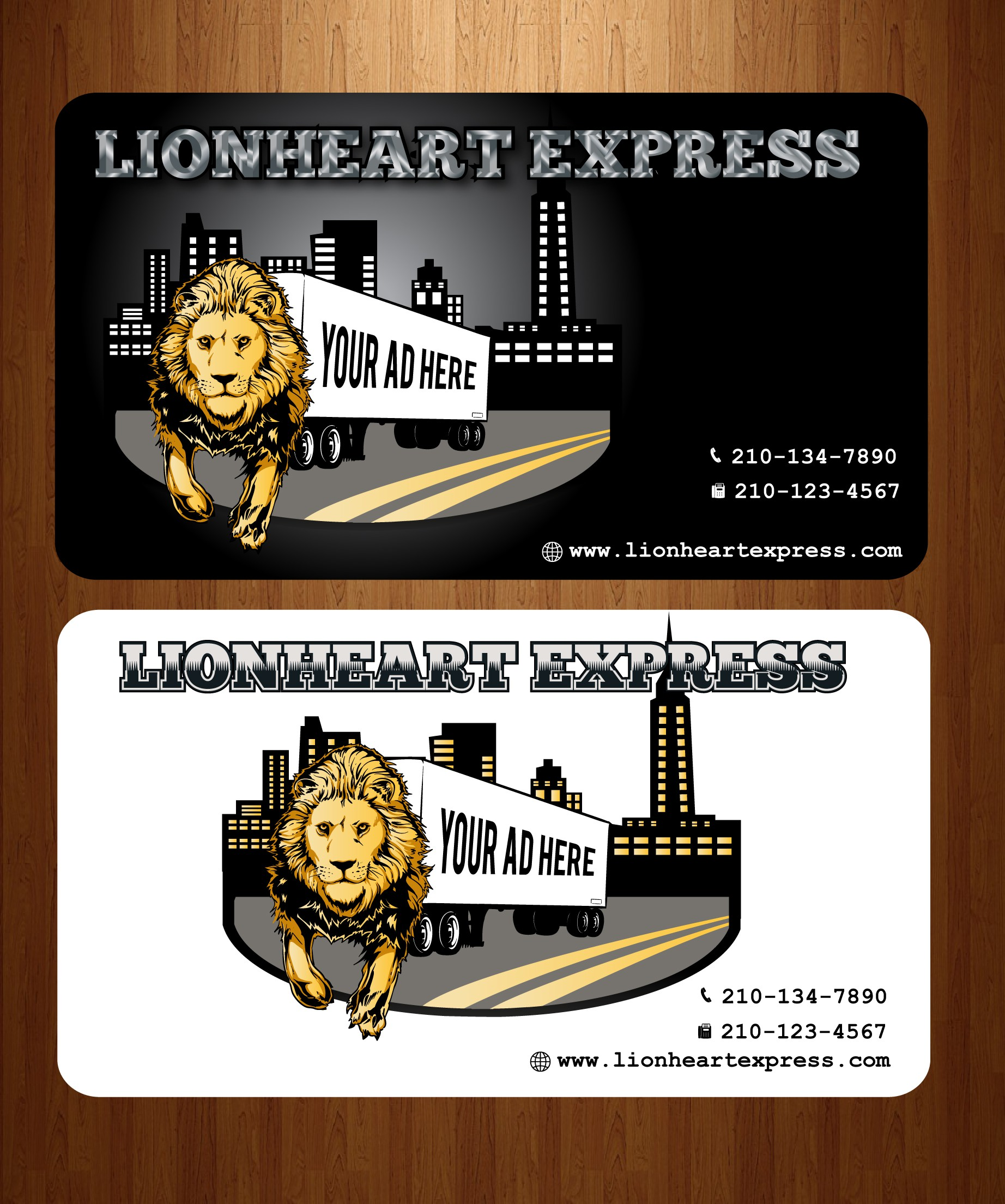 New logo wanted for LIONHEART EXPRESS