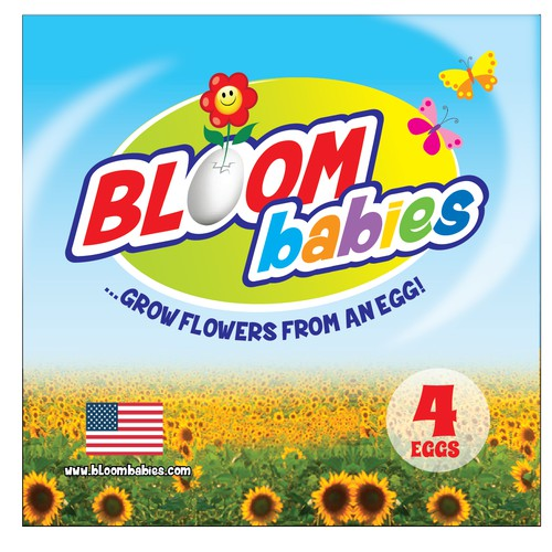 bloom babies label