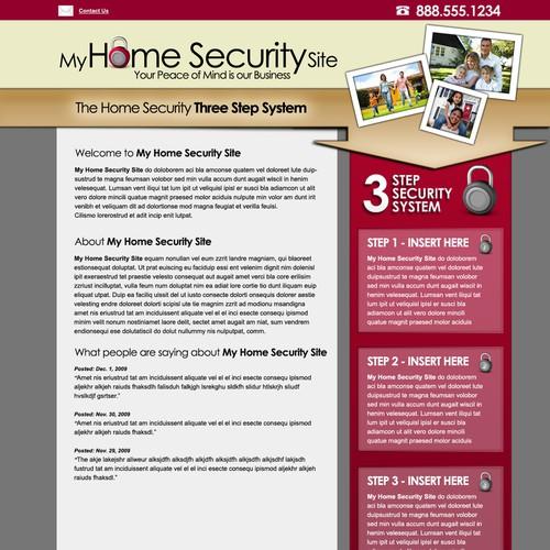 Simple & Elegant One Page Design!