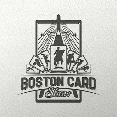 Boston Card Show logo