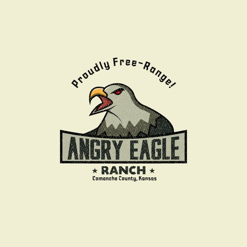 Ranch logo for Angry Eagle