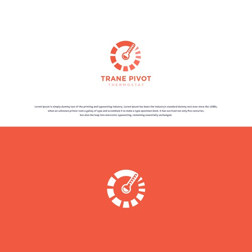 Concept Logo For Trane Pivot Thermostat