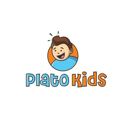 Logo concept for Plato Kids