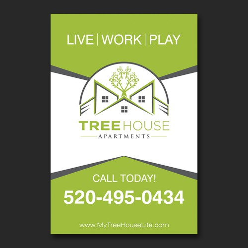 Treehouse Apartments Banner