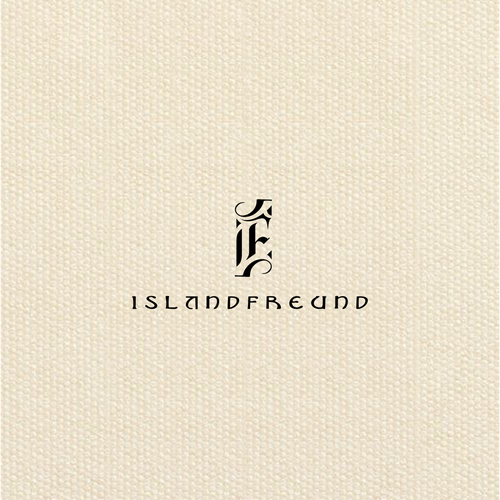 Design a stunning logo that is inspired by Iceland