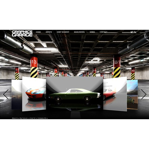 Help Graphics Garage/www.graphicsgarageohio.com with a new website design