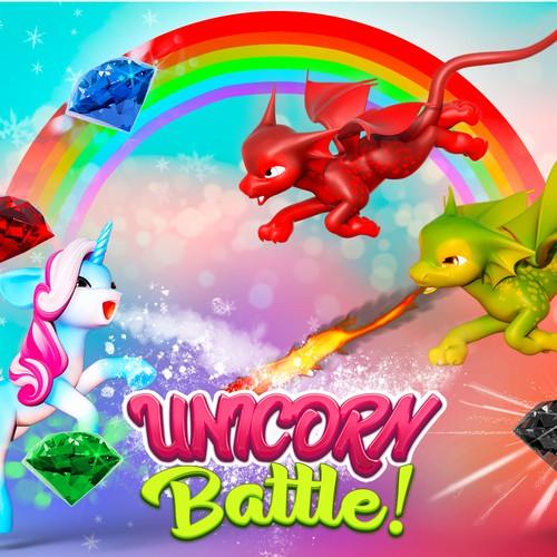Unicorn battle!