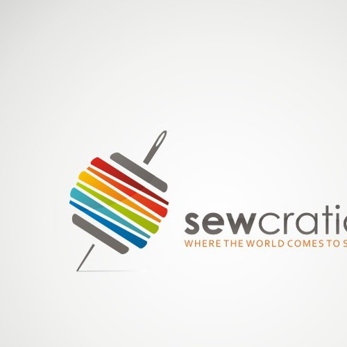 Whimsical logo needed for global sewing site.