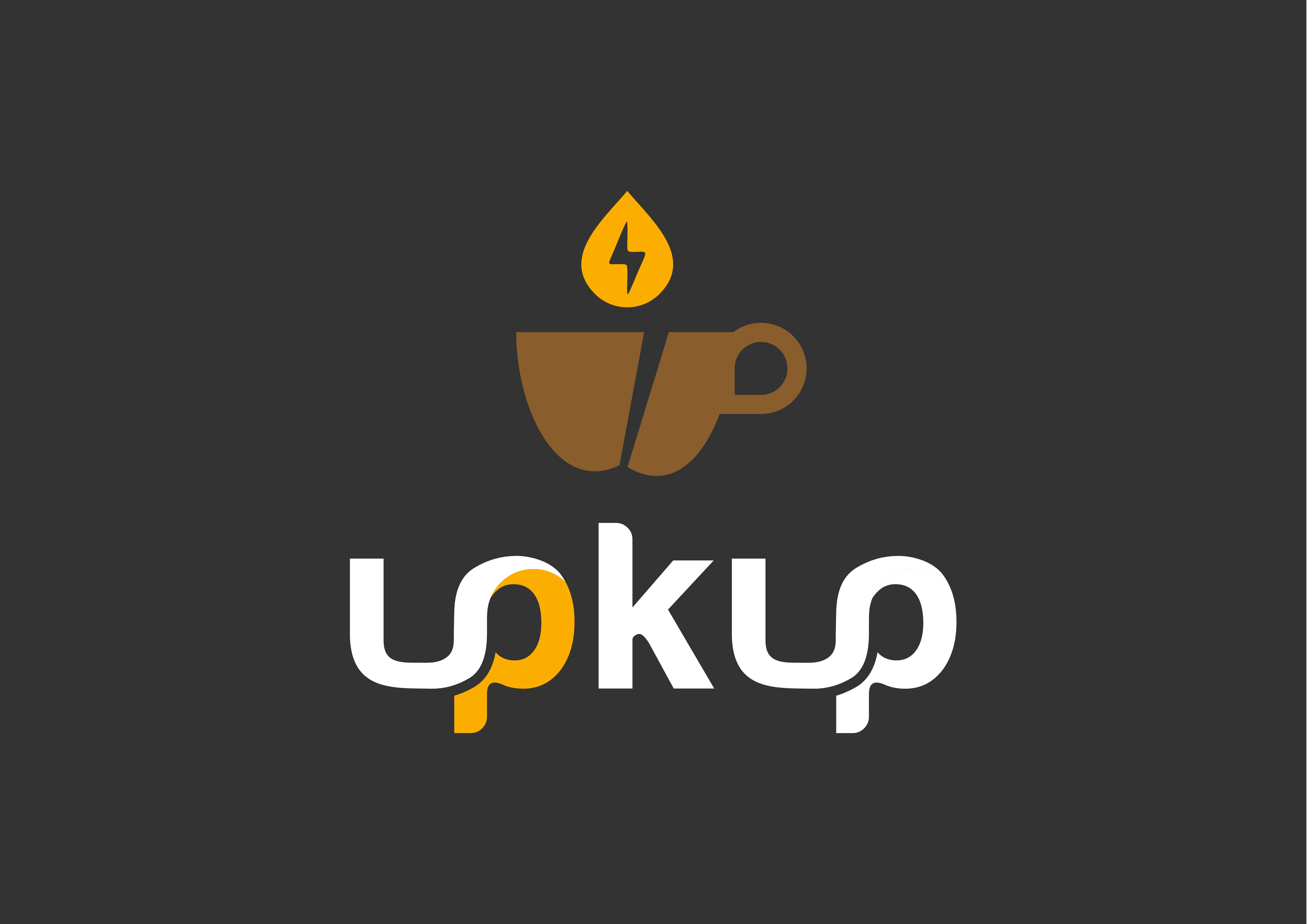 """""""upKup""""     Create logo and promotional Website for energy coffee."""