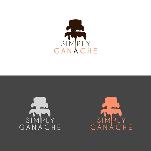 Simple logo concept for new cake store