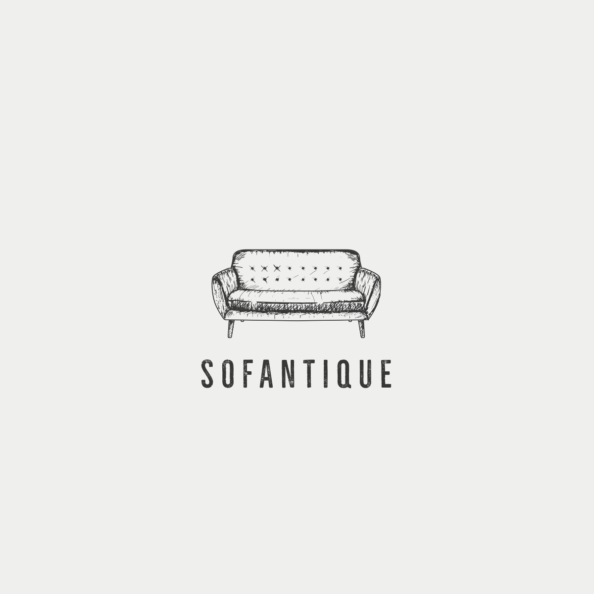 corporate vintage styles for soafantique logo