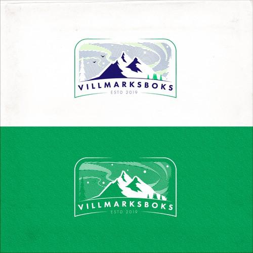 Villmarksboks logo design