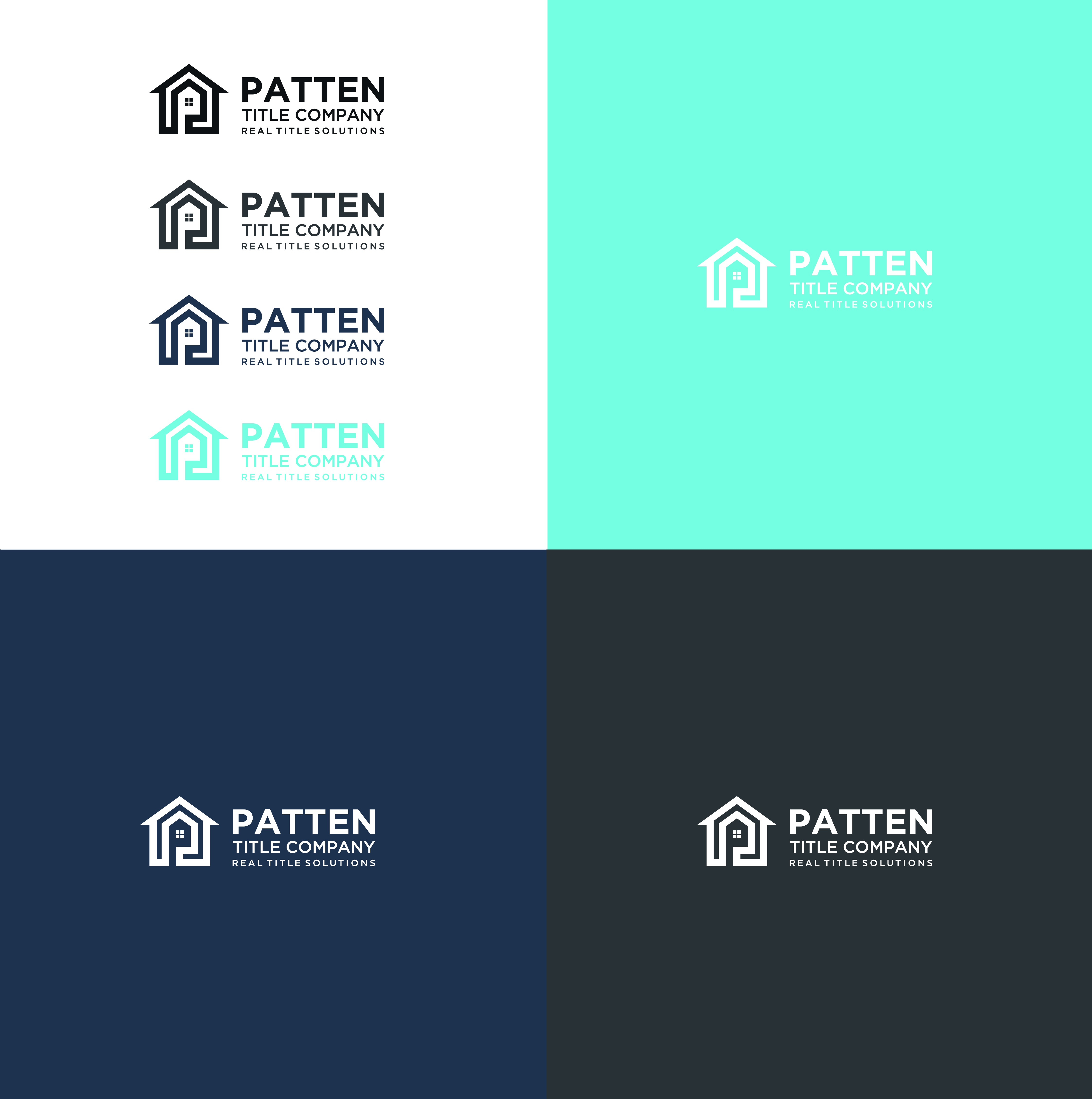 Logo design for real estate company rebrand