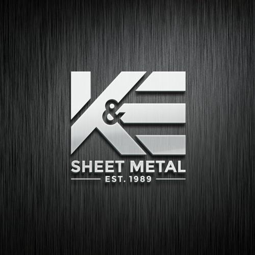 K&E sheet metal logo