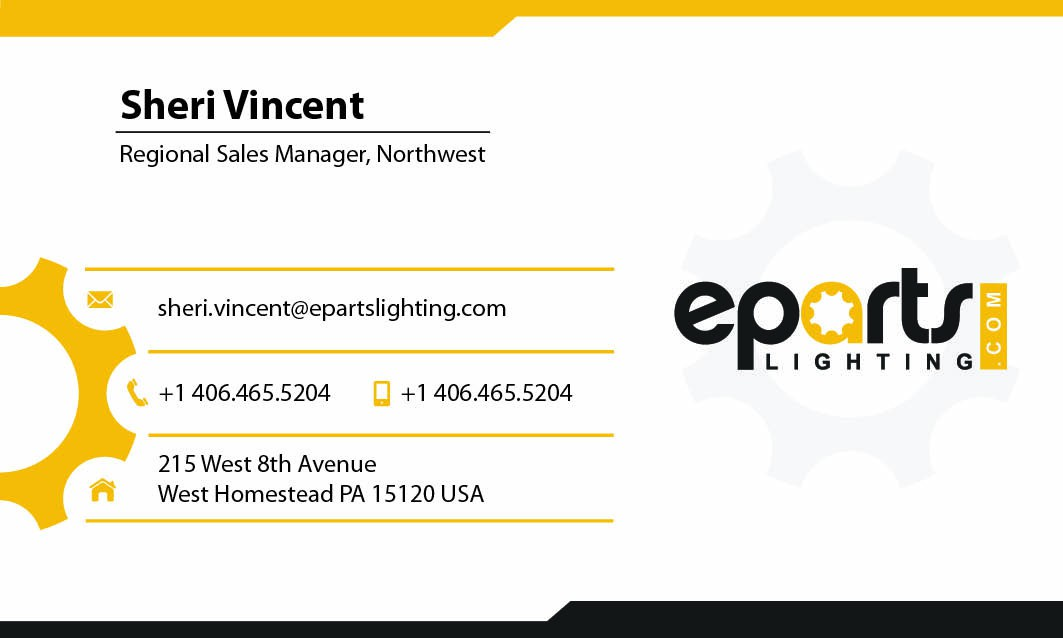 epartslighting.com Business Cards