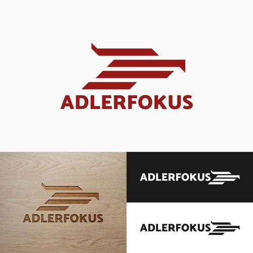 AdlerFokus Logo Design