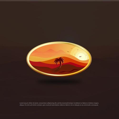 Illustrative Logo design for Dates Product