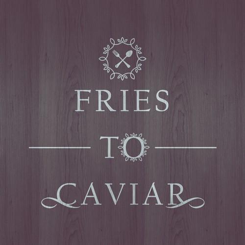 Fries To Caviar Restaurant Logo