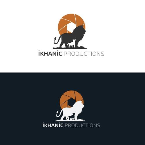 Elegant Logo of iKHANic Productions