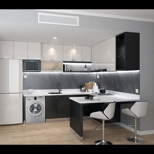 Student House - Kitched design Idea