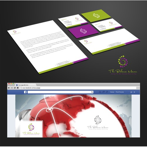 Creative a captivating logo suite for The Balance Maven